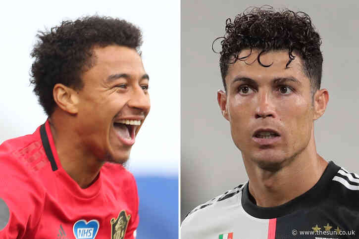 Lingard jokes Cristiano Ronaldo has never given Man Utd any trouble and recalls skills session with 'skinny' teen