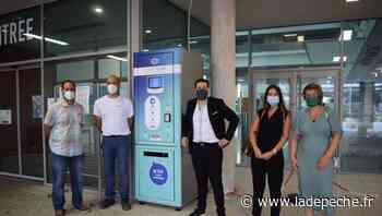 A Castres, les premiers distributeurs de masques sans contact ont été installés - LaDepeche.fr