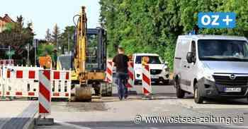 Greifswald: Bauarbeiten in der Loitzer Straße bald beendet - Ostsee Zeitung