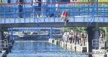 New speakers at Salford Quays designed to deter people from jumping into water