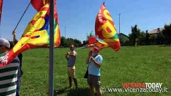 VIDEO | Presidio alla Dhl di Isola Vicentina - VicenzaToday