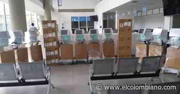 Llegaron a Caucasia equipos médicos claves para montaje de más camas UCI - El Colombiano