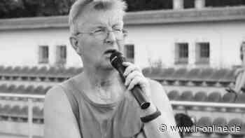 Nachruf auf Christian Homagk: Finsterwalde verliert einen großen Kämpfer und Macher - Lausitzer Rundschau
