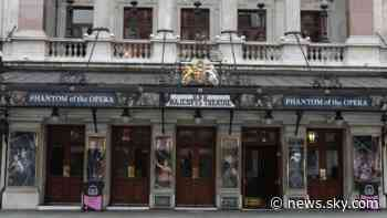 Coronavirus: Phantom of the Opera to close 'permanently' in the West End - Sky News