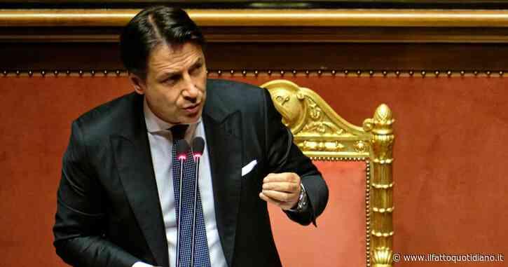 """Stato d'emergenza, Conte in Senato: """"Nessuna torsione autoritaria con la proroga"""""""