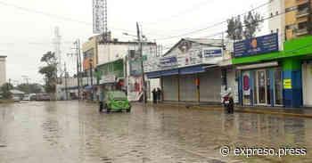 Lluvia causa encharcamientos en Altamira - Expreso