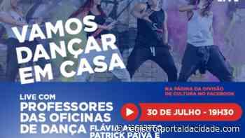 Cultura de Cajati põe todo mundo pra dançar em uma live - Adilson Cabral