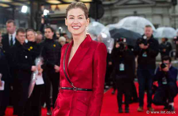 Rosamund Pike likes playing brave characters - The List