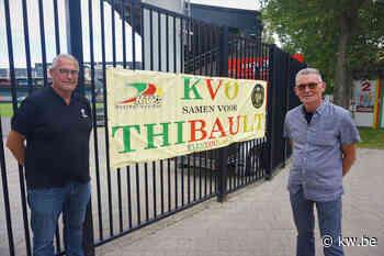 KVO-fans steken kankerpatiëntje Thibault (8) hart onder de riem