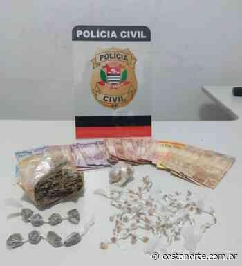 Traficante é preso durante operação da Polícia Civil de Piraju - Jornal Costa Norte