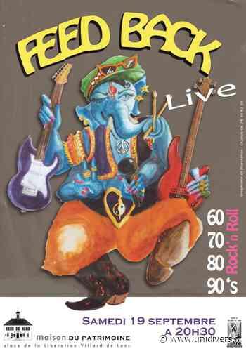 Concert Feed Back Maison du patrimoine samedi 19 septembre 2020 - Unidivers