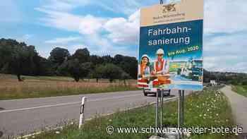 Haigerloch: Ab heute größere Sommerbaustelle auf der B 463 - Haigerloch - Schwarzwälder Bote