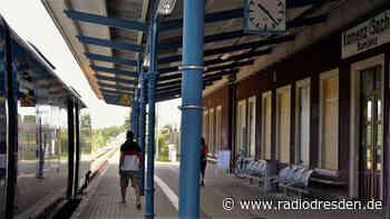 Mit dem Zug von Kamenz ins Seenland - Radio Dresden