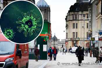 Weekly coronavirus rate for Oxford 15th highest in England - Oxford Mail