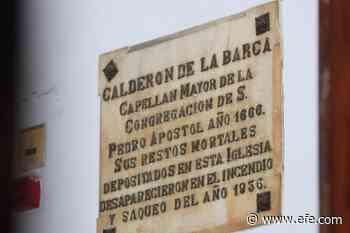 Tras la huella de Calderón de la Barca en Madrid - Agencia EFE