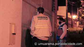 Fiscalização das medidas preventivas ao novo coronavírus continua em Umuarama - ® Portal da Cidade   Umuarama