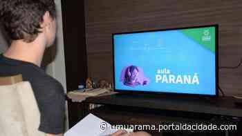 Atividades remotas do Aula Paraná retornam nesta quarta-feira em Umuarama - ® Portal da Cidade   Umuarama