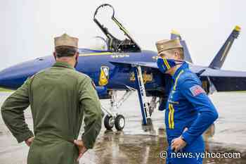 The Blue Angels Just Got Their 1st Super Hornet Jet in Aircraft Upgrade