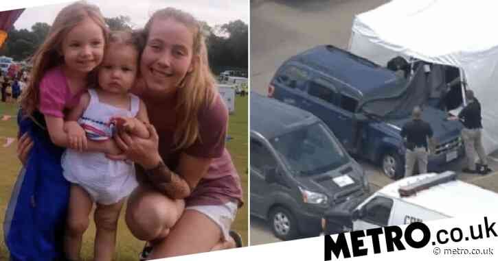 Girls aged 2 and 4 'died trapped in roasting car after mother took fatal overdose in front seat'