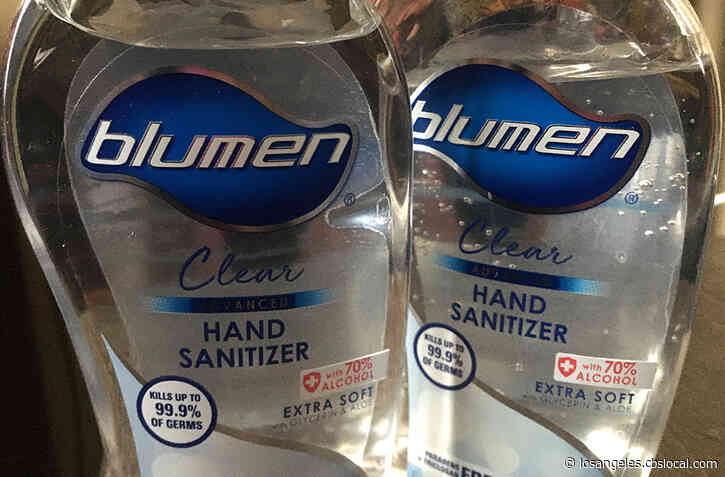 77 Types Of Hand Sanitizer Now Under FDA Recall; Some Brands Had Been Sold At Walmart, Target