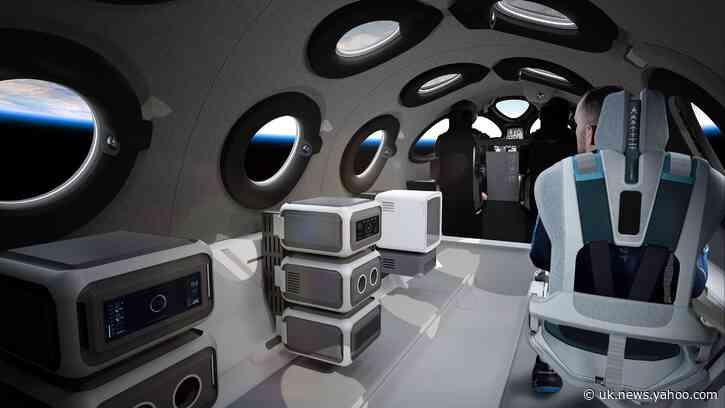 Virgin Galactic shows off passenger spaceship cabin interior