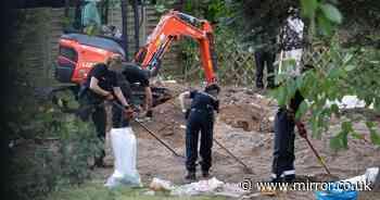 Madeleine McCann probe sees '100 officers' swoop on allotment in grim excavation