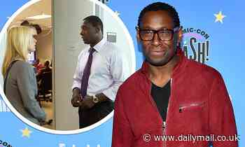 David Harewood claims he left the UK to pursue acting roles in the United States because of racism