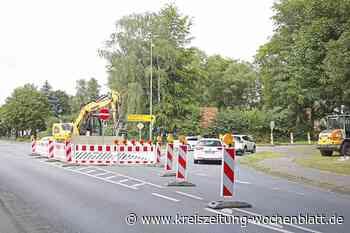 Gefährliche Situation in Stade: Autofahrer ignorierten Absperrungen: Plötzlich Baustelle - mit irrer Umleitung - Kreiszeitung Wochenblatt