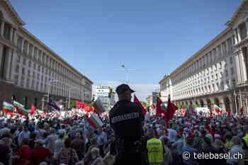 Weitere Proteste in Bulgarien trotz Corona-Geldern - Telebasel