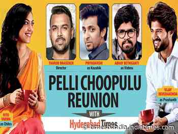 Pelli Choopulu reunion with Hyderabad Times