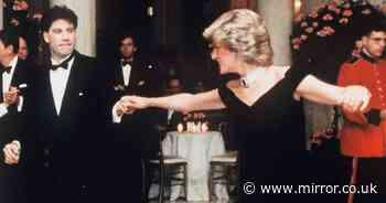 Princess Diana's former home reopening with 'John Travolta dress' on display