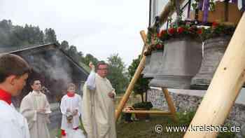 Neue Kirchenglocken von St. Anna am Wamberg geweiht - Kreisbote