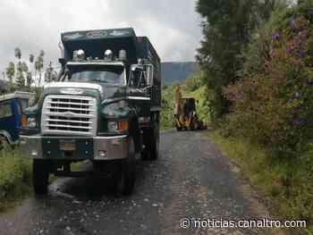 Mantenimiento de la vía Ragonvalia - Chinácota - Canal TRO