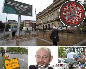 Blackburn with Darwen coronavirus cases rise BUT infection rate STILL in decline - Lancashire Telegraph