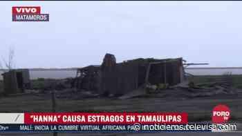 'Hanna' afecta puerto pesquero de Matamoros, Tamaulipas - Noticieros Televisa