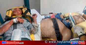 Tamaulipas Volcadura en Matamoros deja dos heridos - Hoy Tamaulipas