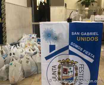 """Concluyen las """"no fiestas"""" de San Gabriel con una ofrenda solidaria de alimentos - Información"""