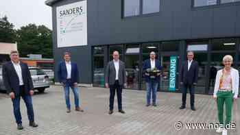 """""""Firma Sanders stärkt Wirtschaftsstandort Spelle"""" - noz.de - Neue Osnabrücker Zeitung"""