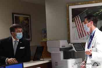 U.S. Secretary of Veterans Affairs Robert Wilkie visits Lebanon VA Medical Center - LebTown