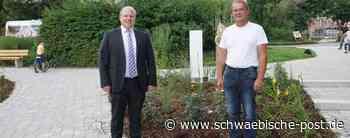 Tolle Spende für den Stadtgarten Neresheim - Schwäbische Post