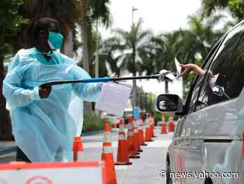 Florida has reported its highest single-day jump in coronavirus deaths with 186 new fatalities