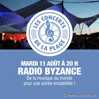 Radio Byzance en concert Nevers Plage mardi 11 août 2020 - Unidivers