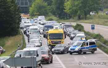 Riesenstau: B29 zwischen Remshalden und Winterbach am Mittwoch wegen Unfallaufnahme stundenlang gesperrt - Zeitungsverlag Waiblingen