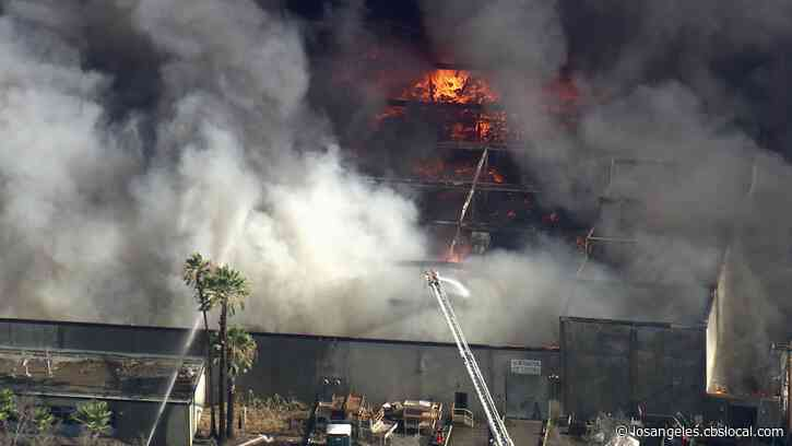Fire Erupts At Salvation Army Store In Perris