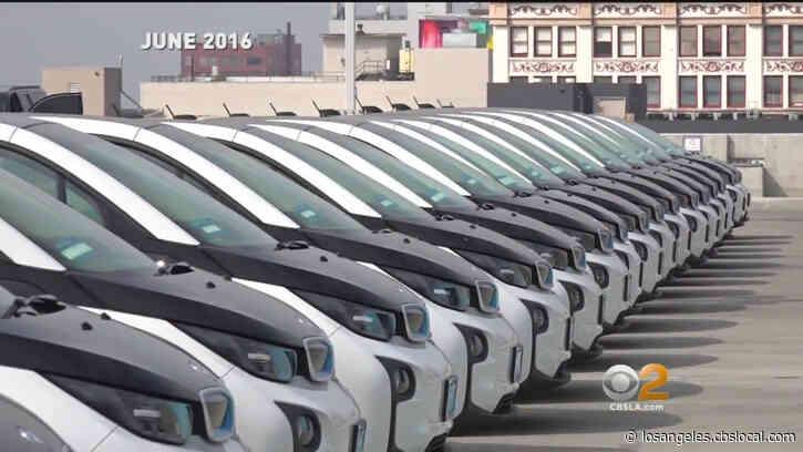Despite Funding Cuts, LAPD Stuck With $10M Electric BMW Pilot Program
