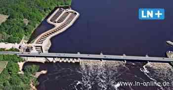 Lockströmung am Stauwehr der Elbe in Geesthacht wird jetzt installiert - Lübecker Nachrichten