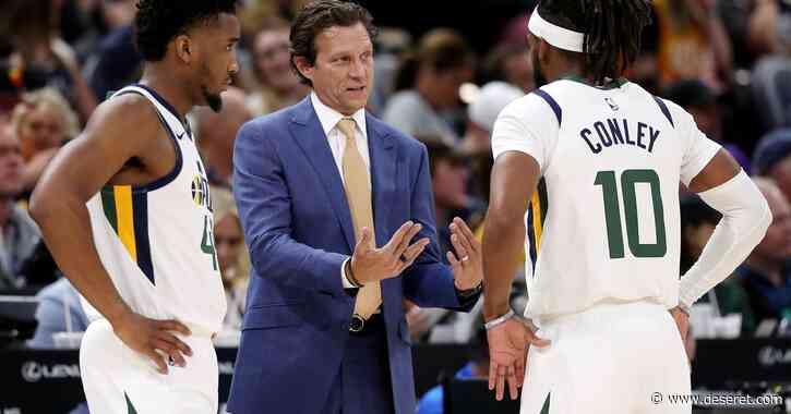 With nothing to lose, seeding games give the Utah Jazz a chance to fine-tune for the playoffs