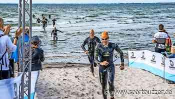 Triathlon-Premiere in Dierhagen: In der Abenddämmerung über die Halbinsel - Sportbuzzer