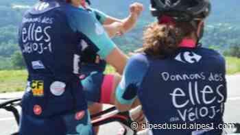 04/05 : Les filles de « Donnons des Ailes au vélo » à Sisteron et Orcières ce week-end. - Alpes 1