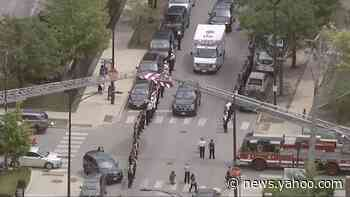 Chicago police hold procession for 'high-ranking' officer who died by suicide
